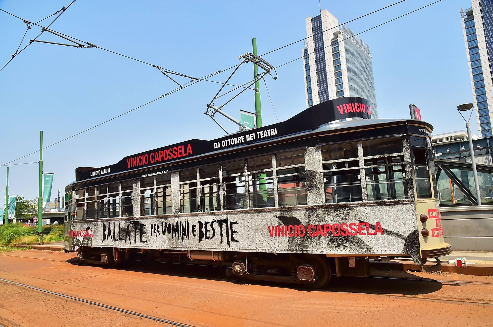 Tram Vinicio Capossela Agenzia Pubblicitaria Macerata