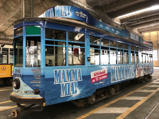 Mamma Mia Tram Promo Milano