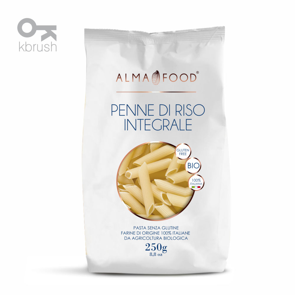 Packaging Alma Food - KBRUSH Siti Internet macerata