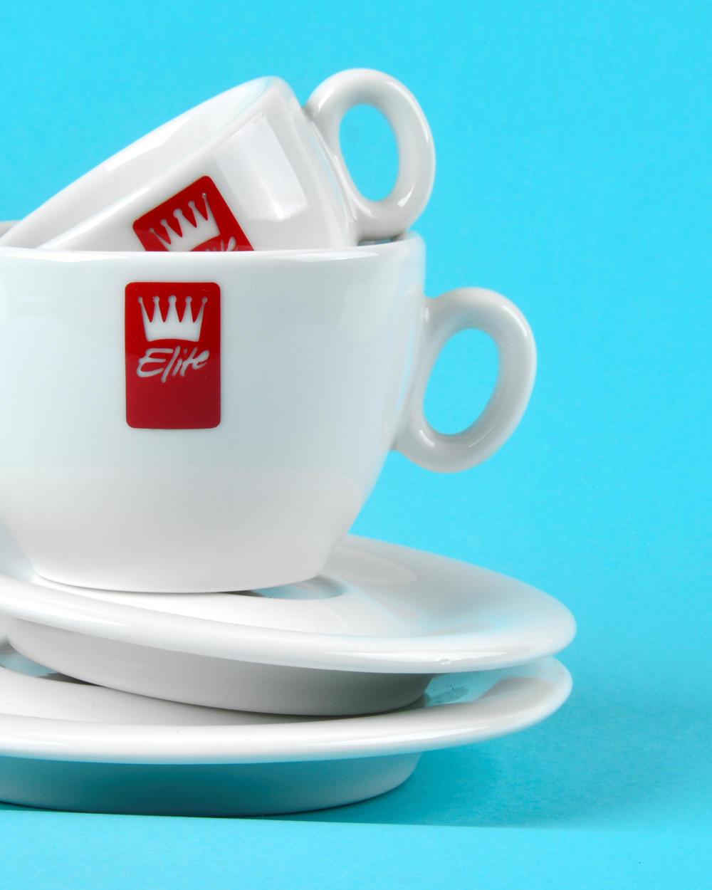 Agenzia Pubblicitaria Macerata – Progettazione Tazzine da Caffè Elite Caffe