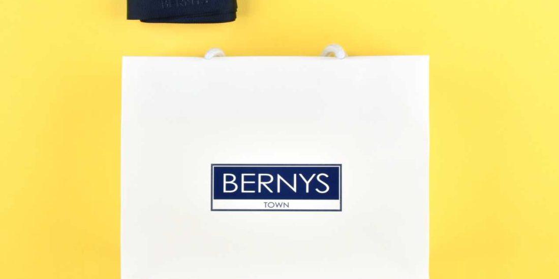 KBRUSH Agenzia Pubblicitaria Provincia Macerata Agenzia Pubblicitaria Tolentino - Shopper Bernys
