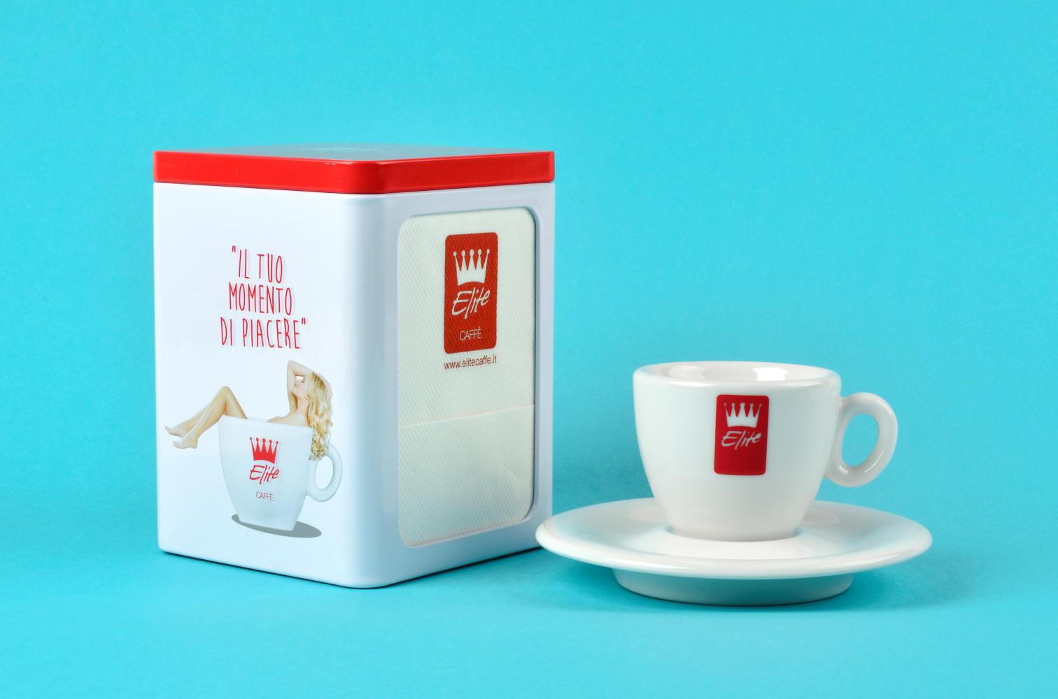 Agenzia Pubblicitaria Tolentino – Studio Immagine Coordinata Elite Caffe