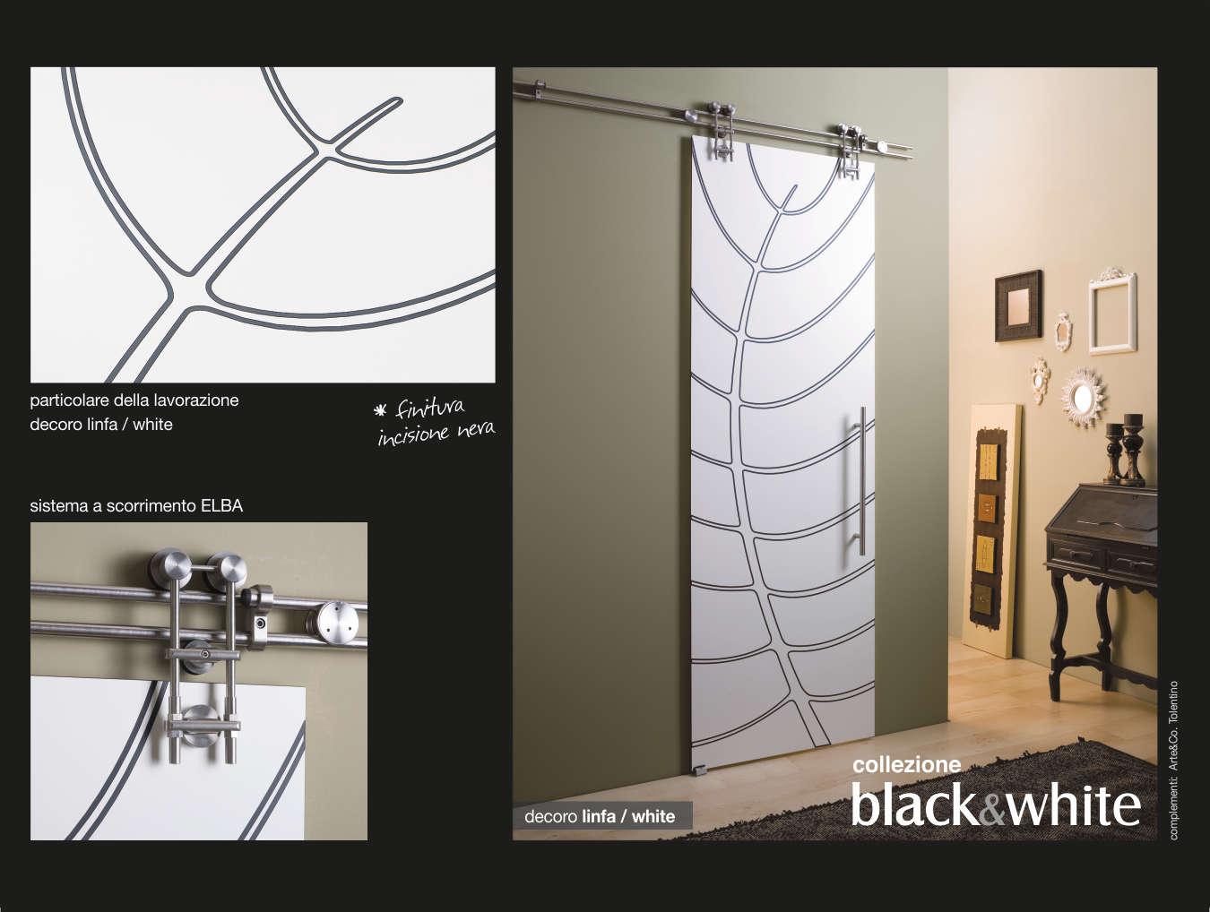 Designer Linea Porte Black&White Designer Katia Fidani Tolentino