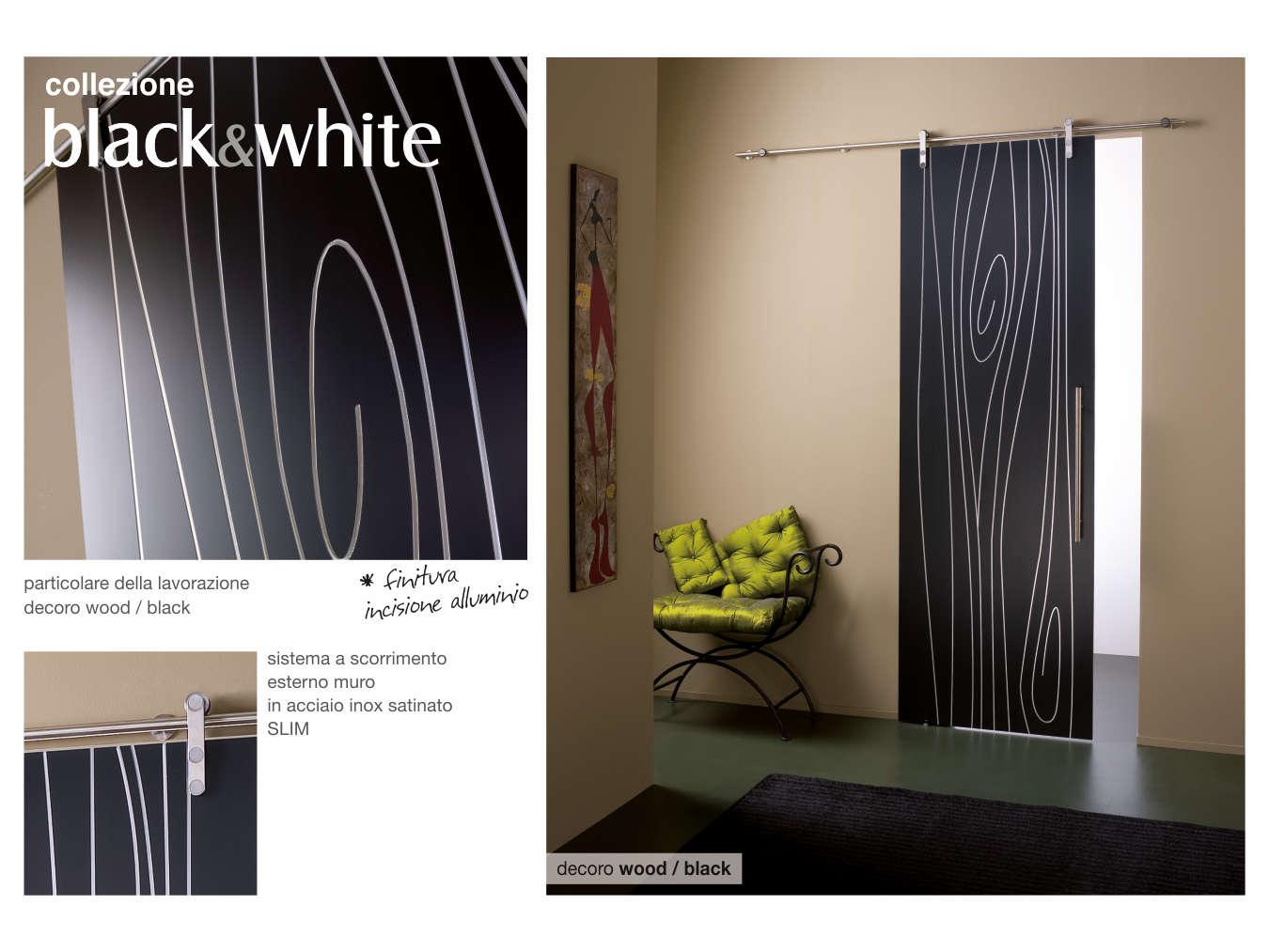 Designer Linea Porte Black&White Designer Studio Macerata