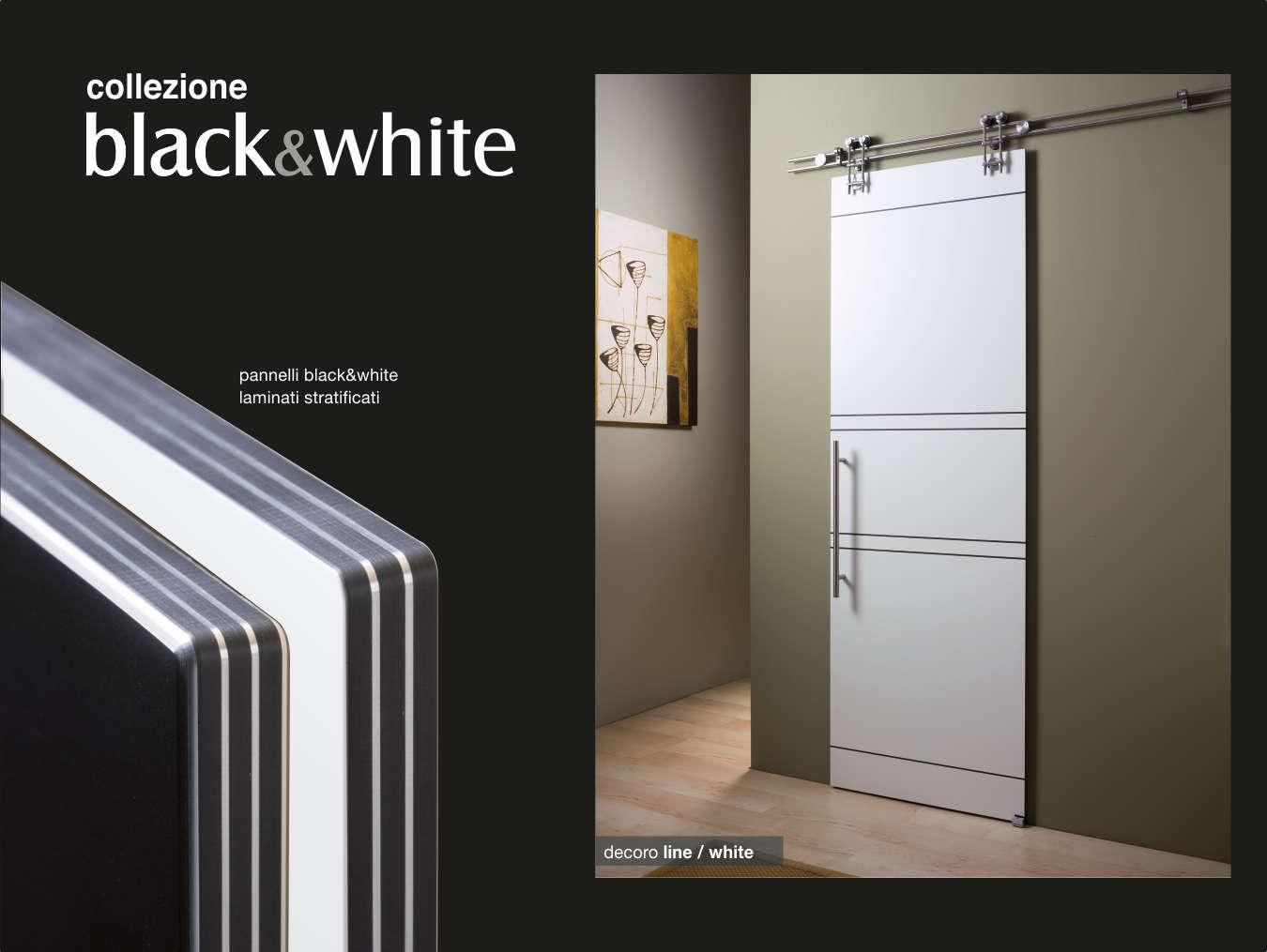 Designer Linea Porte Black&White Designer Studio Tolentino