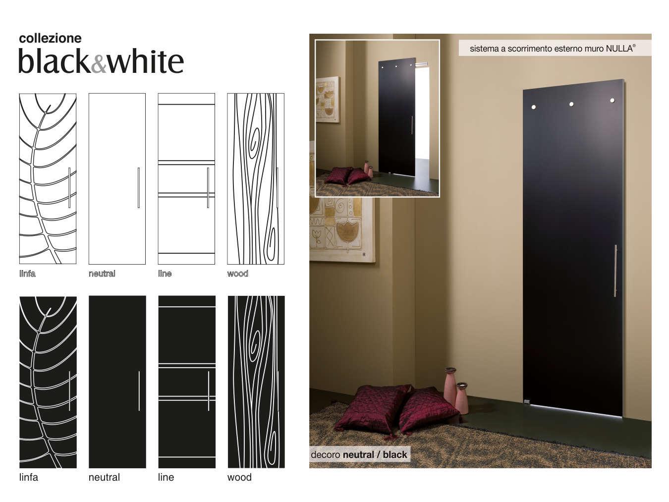 Designer Linea Porte Black&White Studio di Designer Tolentino
