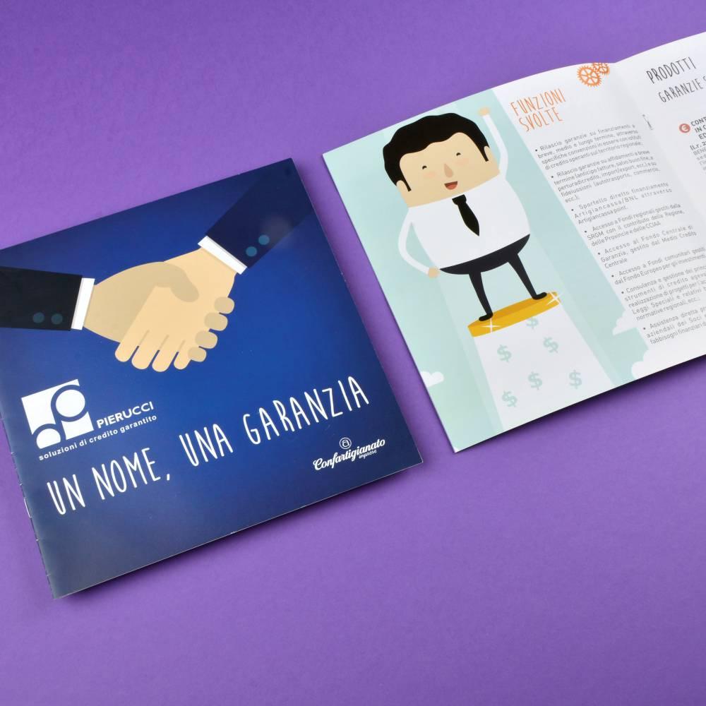 Pierucci Progettazione Grafica Brochure Servizi – Agenzia di Comunicazione Tolentino