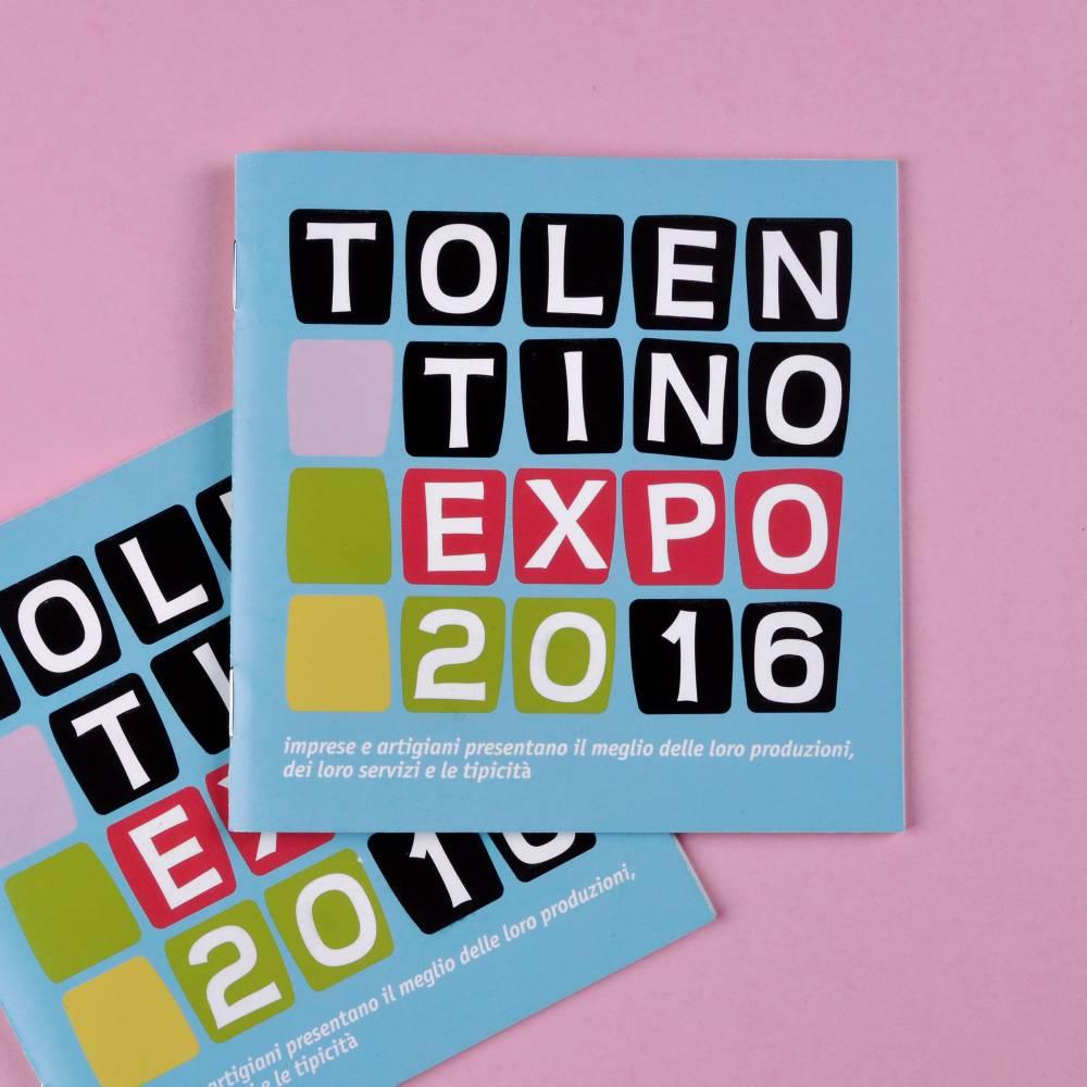 Progettazione Grafica Brochure Tolentino Expo – Studio Grafico KBRUSH