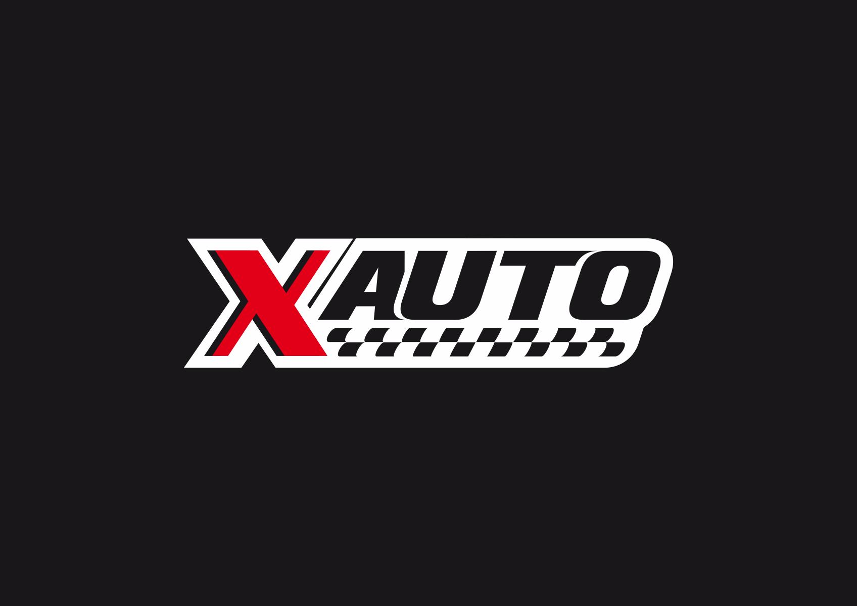 logotipo x auto studio grafico tolentino