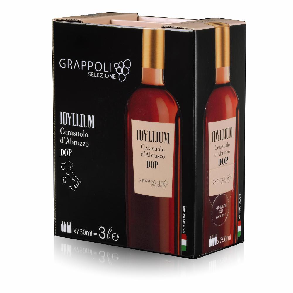 Packaging Vini in Bag in Box Grappoli Selezione
