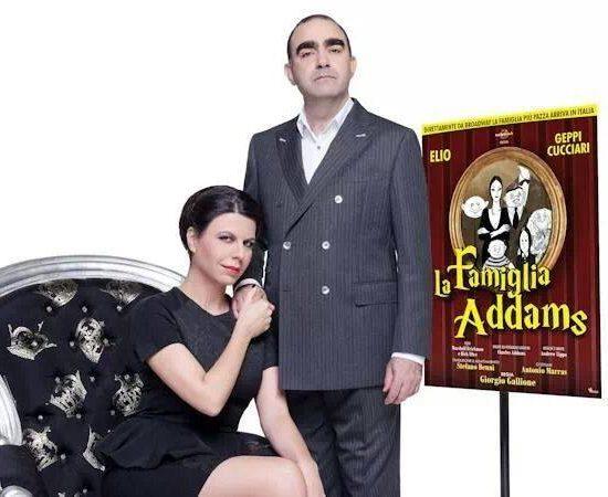 Progettazione Grafica Promozionale Spettacolo La Famiglia Addams