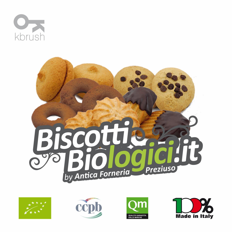 BIscotti Biologici Antica Forneria Preziuso BISCOTTI