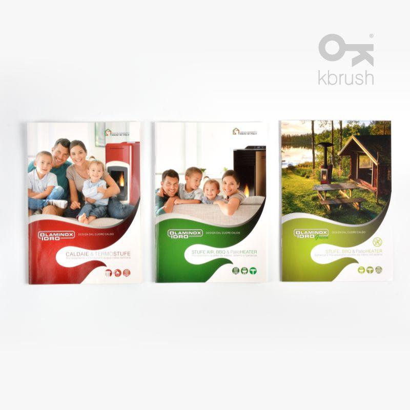 Progettazione Grafica Cataloghi Macerata Tolentino Catalogo LAMINOX Stufe a Pellet